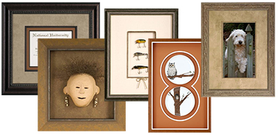 Examples of Moulding or Frames