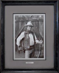 Custom framing - John Wayne