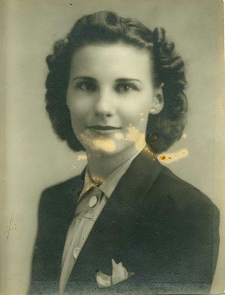 Photo of young woman - original