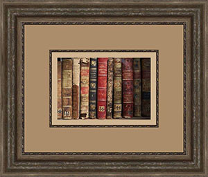 Framed Image of Books
