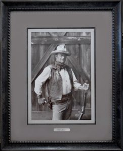 Custom framing - John Wayne